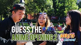 One of Jimmy Zhang's most viewed videos: GUESS THE ANIME OPENING 2