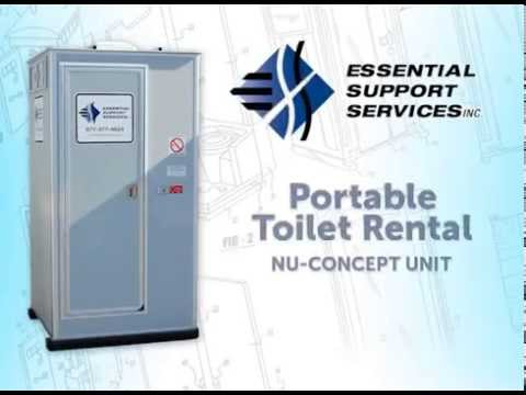 portable toilet rental   essential support services