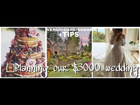 venue•cake•dress-planning-our-$3000-wedding+tips diy-budget-bride-series