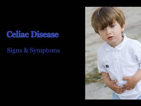 Celiac Disease - Symptoms in Children - YouTube