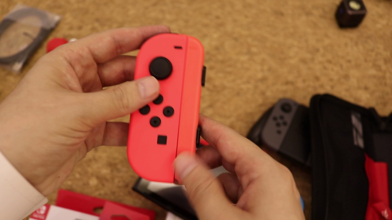 nintendo switch joycon strap aren u0027t identical shades of red