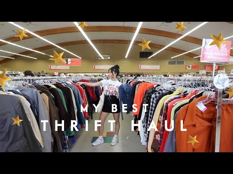 THRIFT HAUL | Value Village 5.0