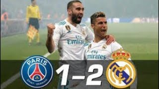 PSG vs Real Madrid 1-2 - All Goals & Extended Highlights - UCL 06-03-2018 HD
