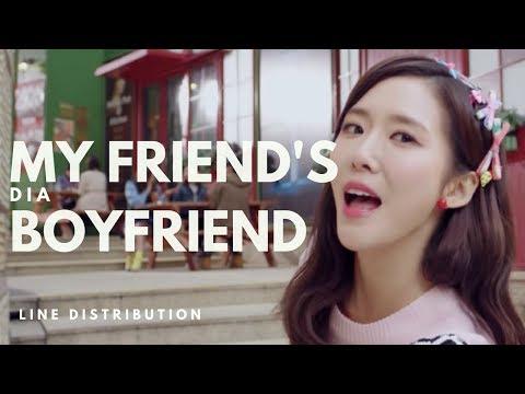 다이아 DIA - MY FRIEND'S BOYFRIEND || Line Distribution