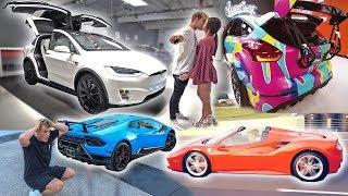 Jake Paul Buying All Cars! (Lambo, Tesla, Ferrari, etc.)