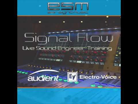 Earsightmusic Signal Flow Live Sound Engineer Training