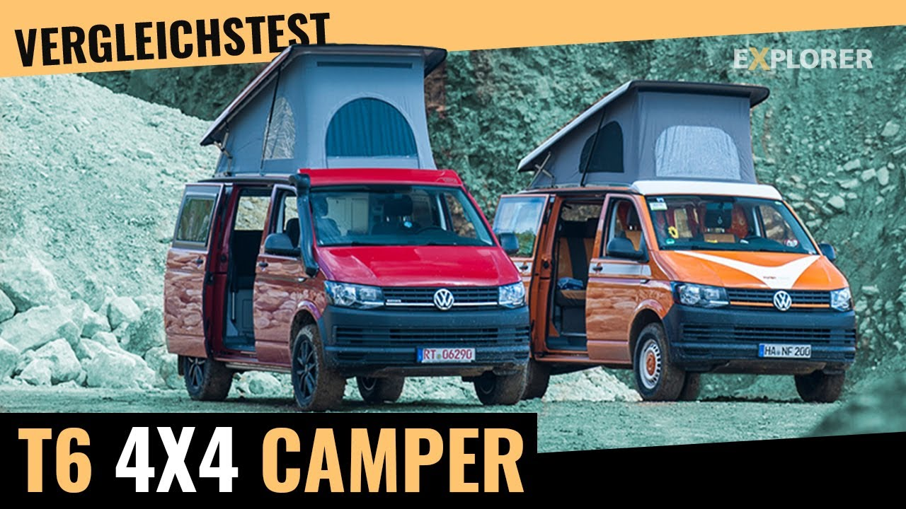 vw t6 allrad camper test flowcamper 150 vs werz piccolo. Black Bedroom Furniture Sets. Home Design Ideas