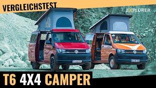 VW T6 Allrad Camper Test ▬ Flowcamper 150 vs. Werz Piccolo slimline