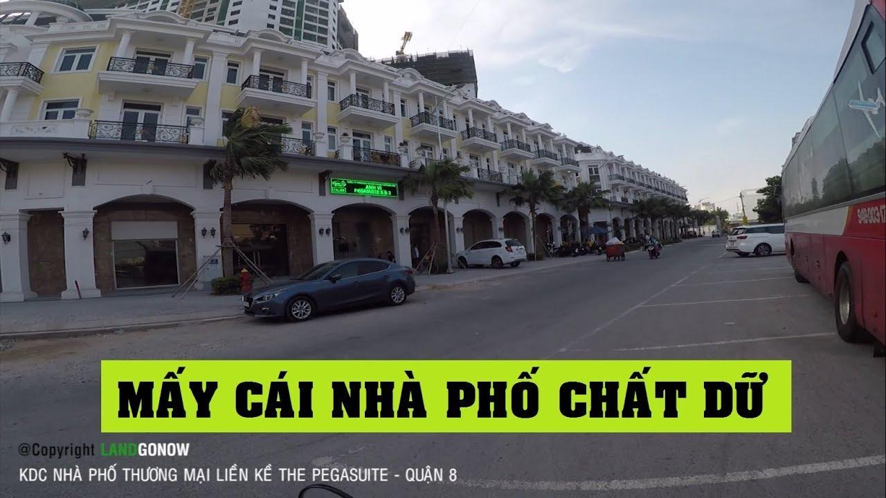 Nhà phố thương mại liền kề The Pegasuite Tạ Quan Bửu, Quận 8