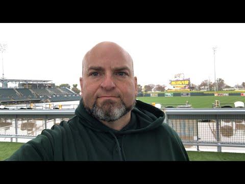 Oakland Athletics 2019 Spring Training Opener Versus Seattle Mariners