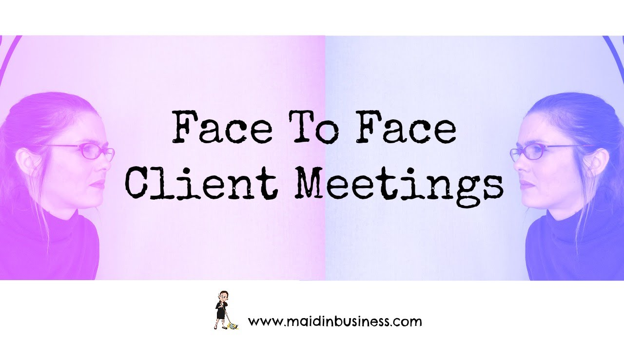Face To Face Client Meetings Sales YouTube