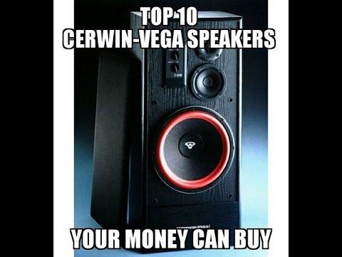 Top 10 Cerwin-vega! speakers your money can buy!