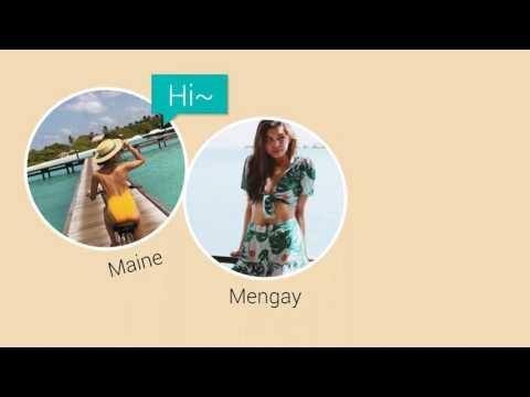 Hot Maine in her dream destination
