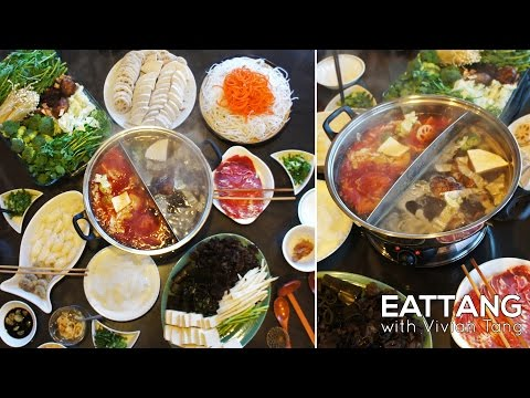 Healthy Sichuan Hot Pot from Scratch 健康麻辣火锅 | EATTANG with Vivian Tang