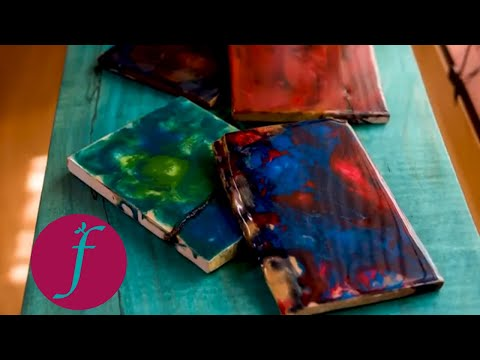DIY Wood and Epoxy Resin Trivets // Trash Wood to Treasure How To