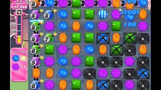 How to beat Candy Crush Saga Level 555 - 1 Stars - No Boosters - 381,040pts