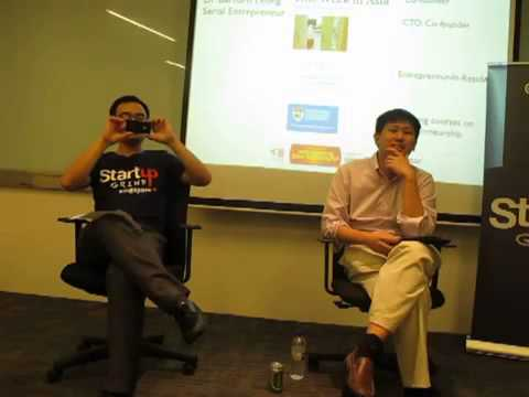 Dr. Bernard Leong (SGEntrepreneur) at Startup Grind Singapore