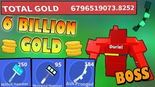 6Billion Gold made me *OP*!!! Leaderboards!!! - 🏹Roblox Army Control SImulator