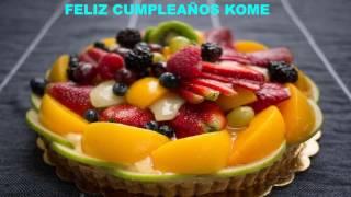 Kome   Birthday Cakes