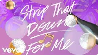 Liam Payne - Strip That Down ft. Quavo (Lyric Video)