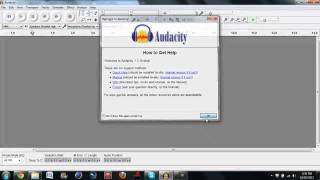 how to auto tune your voice(Audacity)