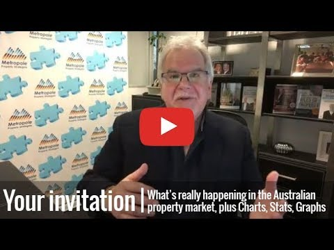 MASTERCLASS  - What's really happening inAustralia's property markets | OCTOBER 2018