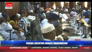 Federal Executive Council Inauguration -- 11/11/15 Pt 4