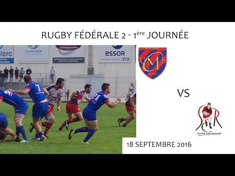 RUGBY Fédérale 2 - U MONTILIENNE S vs SC ROYANS