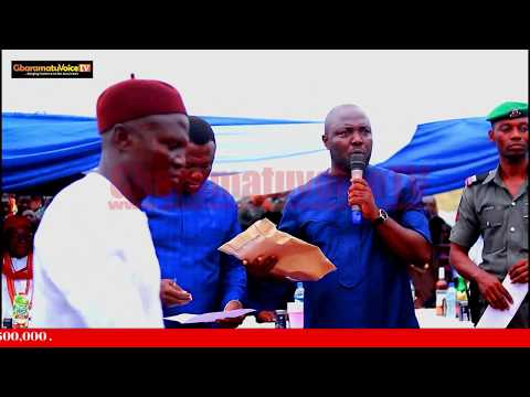 NIGER DELTA LEADER, CHIEF LOYIBO EMPOWERS 30 YOUTHS AND ELDERS