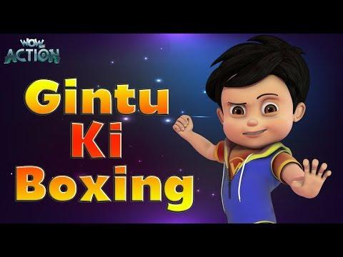 Vir: The Robot Boy | Hindi Cartoons for kids | Gintu Ki Boxing | WowKidz Action