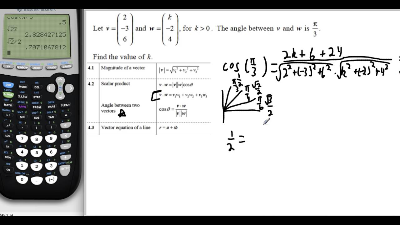 Direction cosines and direction angles (vectors) (kristakingmath.
