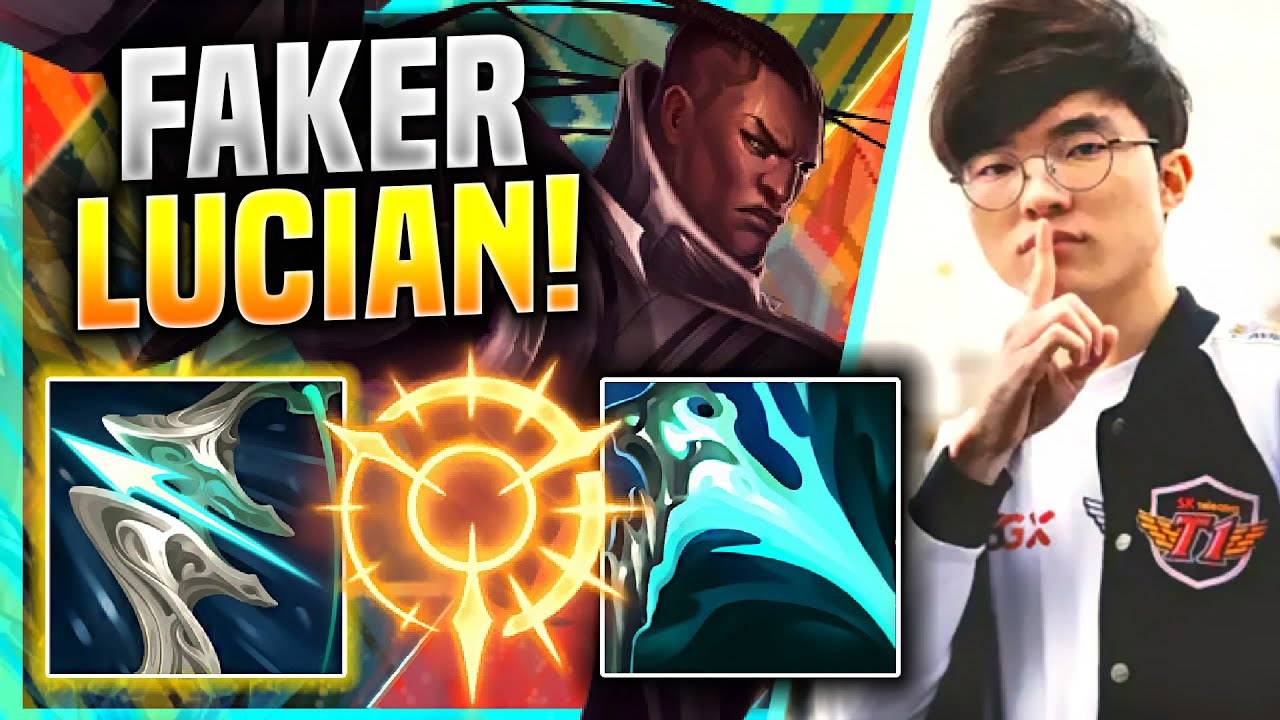 FAKER IS PERFECT WITH LUCIAN! - T1 Faker Plays Lucian Mid vs Twisted Fate! | KR SoloQ Patch 11.4