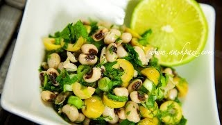 Black Eyed Peas And Olive Salad (healthy Salad) Recipe
