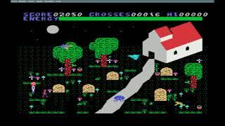 Chiller MSX Gameplay Completo Final Poke Energia Infinita