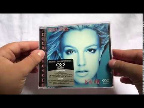 Loja Glory Shop: Britney Spears - In The Zone (DualDisc) | EUA [Unboxing]