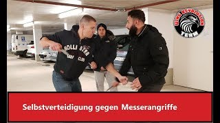 Selbstverteidigung gegen Messer Wing Fight München