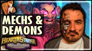 MECH + DEMON = NEW META?! - Hearthstone Battlegrounds