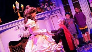Beauty and the Beast Princess Belle | Kinder Playtime Walt Disney World Celebration Trip Vlog Part 2