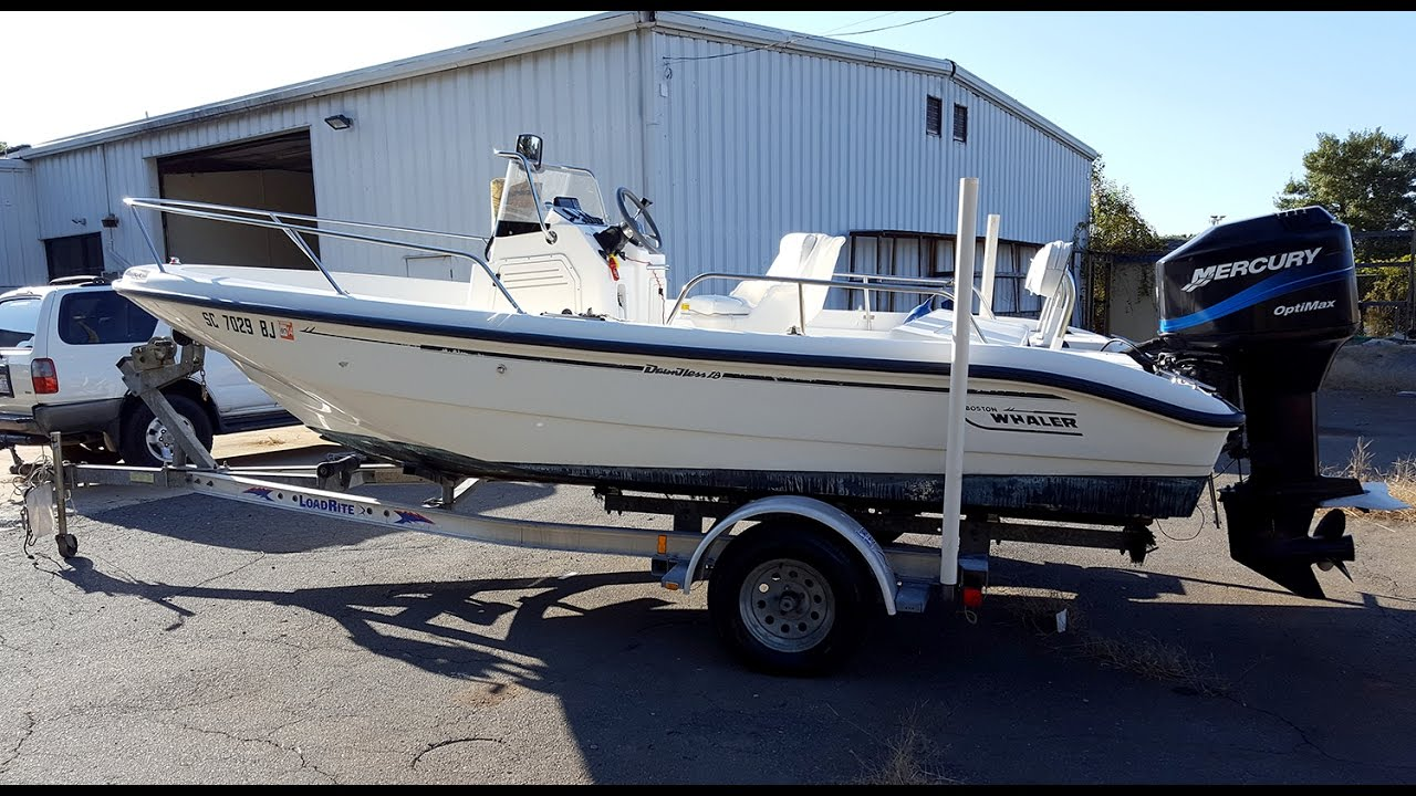 2000 Boston Whaler Dauntless 18 - For Sale - Formula One Imports Charlotte