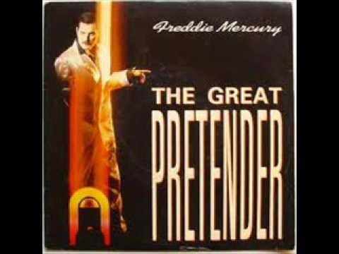 Freddie Mercury - The Great Pretender  (cover Roman Gril, lyrics and guitar chords)