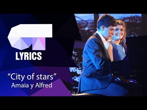 """City of stars"" Alfred y Amaia 