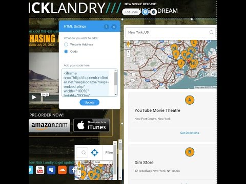 Use Google Maps Store Locator On Your Wix Websites