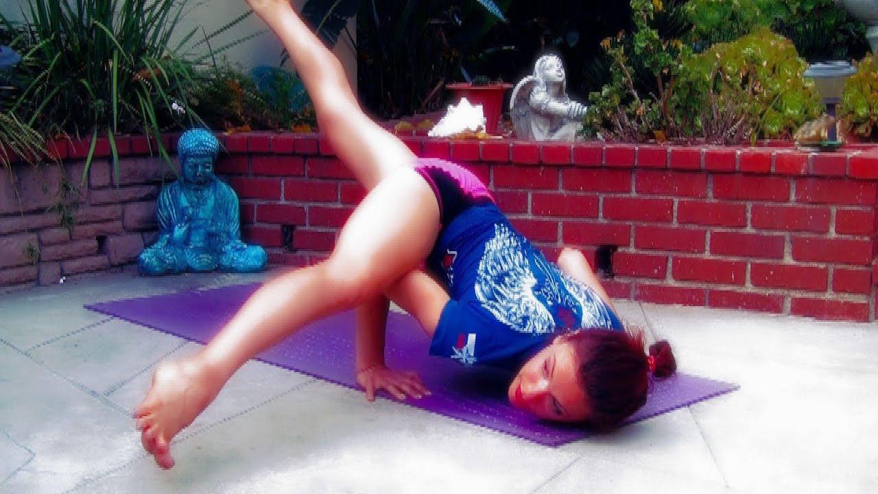AK110 Yoga for MMA Advanced Vinyasa Flow Flexibility Hips ...