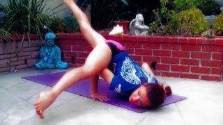 AK110 Yoga for MMA Advanced Vinyasa Flow Flexibility Hips Shoulders