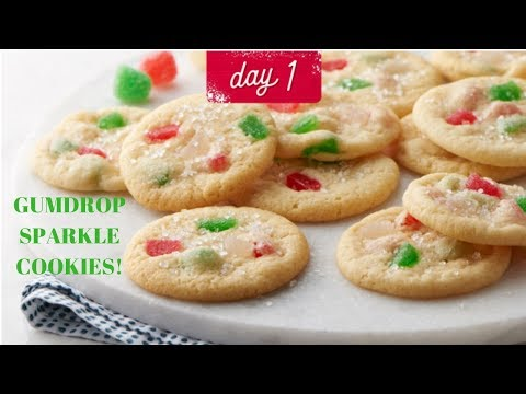 24 Days Of Cookies Vlogmas Day 1 Betty Crocker S Gumdrop Sparkle