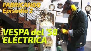 Convirtiendo Vespa del '58 en moto eléctrica - ¡No hay marcha atrás!  EPISODIO 2