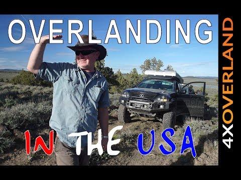 OVERLANDING IN THE USA, Ep3. Oregon Desert. Andrew StPierre White