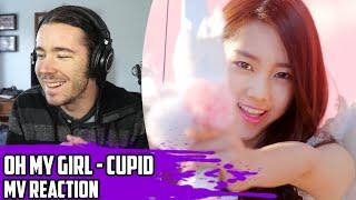 Video Oh My Girl(오마이걸) - Cupid(큐피드) | MV Reaction download MP3, 3GP, MP4, WEBM, AVI, FLV Maret 2018