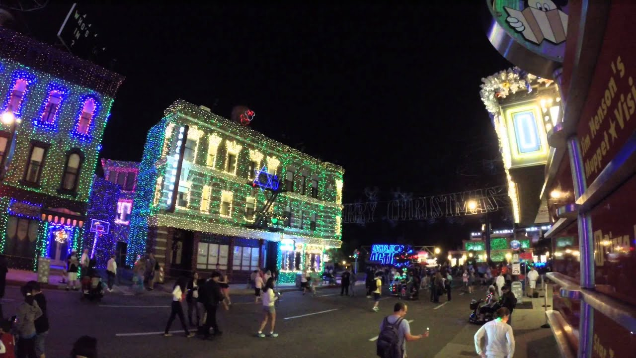 Osborne Family Spectacle Of Dancing Lights Big Bad Voodoo Daddy Christmas Is Starting Now 2014