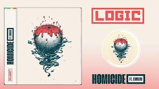 Logic - Homicide (feat. Eminem) ( Audio) (No Copyright Music) 8D Sound